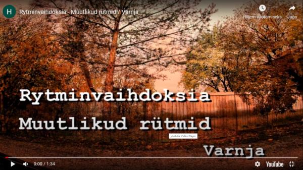 Suomalaisrunoilijan tekstit ja Peipsin sipulikylät päätyivät samalle videolle