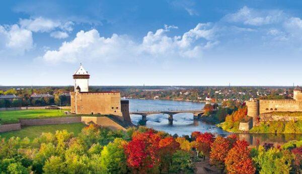 Viron runokartan itäisimmästä pisteestä on pitkä matka länteen